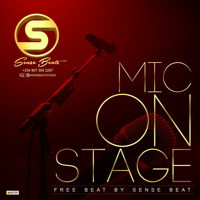 """Mic On Stage"" Free Instrumental By Sense Beatz"