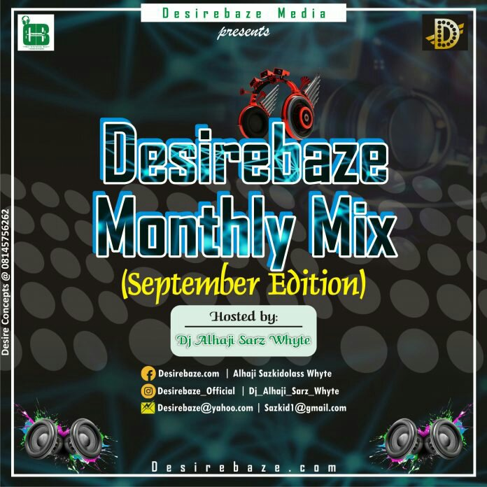 Desirebaze Media Monthly Mixtape (September Edition